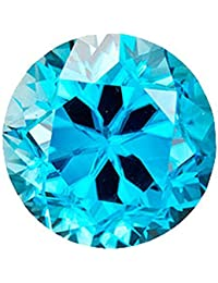 カラーダイヤモンド ブリリアントカット ルース 1.9mm 1個 スカイブルー クラリティ:SI diac-skb-1.9mm