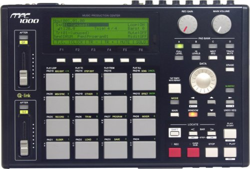 AKAI サンプリングマシン MPC1000BK-N