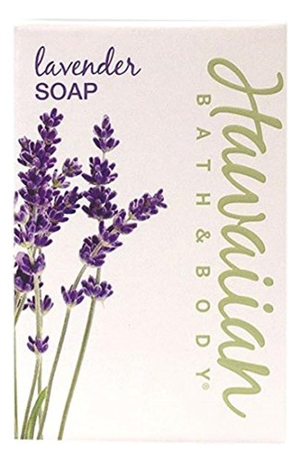 永久に花弁ギャラントリーHAWAIIAN BATH & BODY SOAP ラベンダー