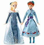 Disney(ディズニー) Anna and Elsa Classic Doll Set - Olaf's Frozen Adventure - 11 1/2'' アナとエルサクラシックドールセット オ..