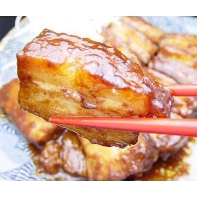 豚肉の味噌煮込み〔約450g×1本〕 豚肉 豚ばら肉 角煮 煮豚 お取り寄せグルメ ご飯のお供 ごはんの友