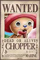 """ONE PIECE """"Wanted Chopper"""" Poster  ワンピース「ウォンテッドチョッパー」ポスター"""