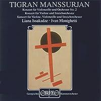 Violin, Cello and Double Concertos (Georgian Co) by Tigran Mansurian (1997-02-06)