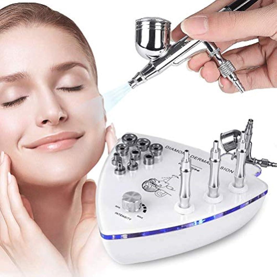 佐賀影響命令美容機器 - ダイヤモンドMicroderma - スプレーガン散水真空吸引ピーリング?フェイシャルマッサージでBrasion皮膚剥離マシン
