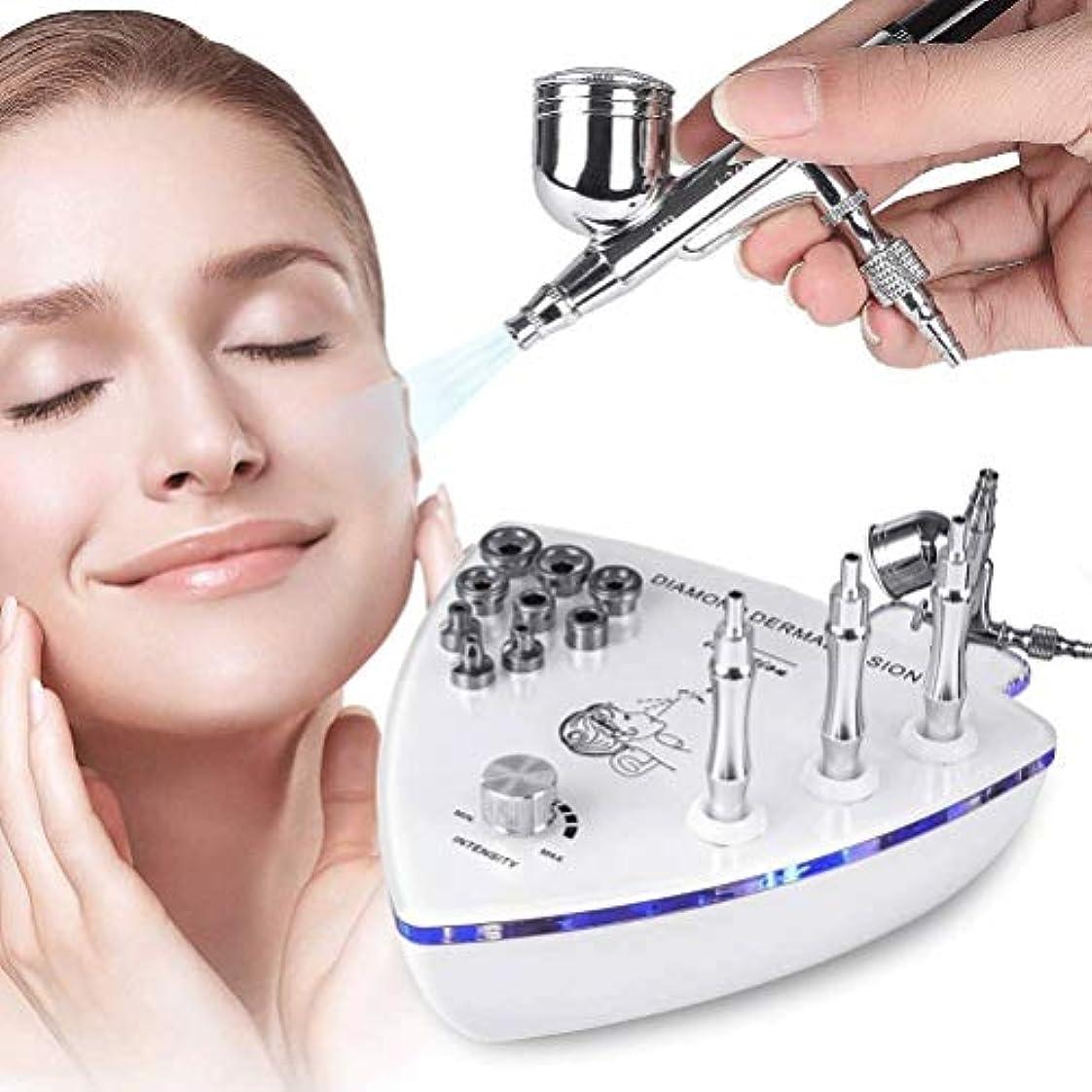 菊積極的に環境に優しい美容機器 - ダイヤモンドMicroderma - スプレーガン散水真空吸引ピーリング?フェイシャルマッサージでBrasion皮膚剥離マシン