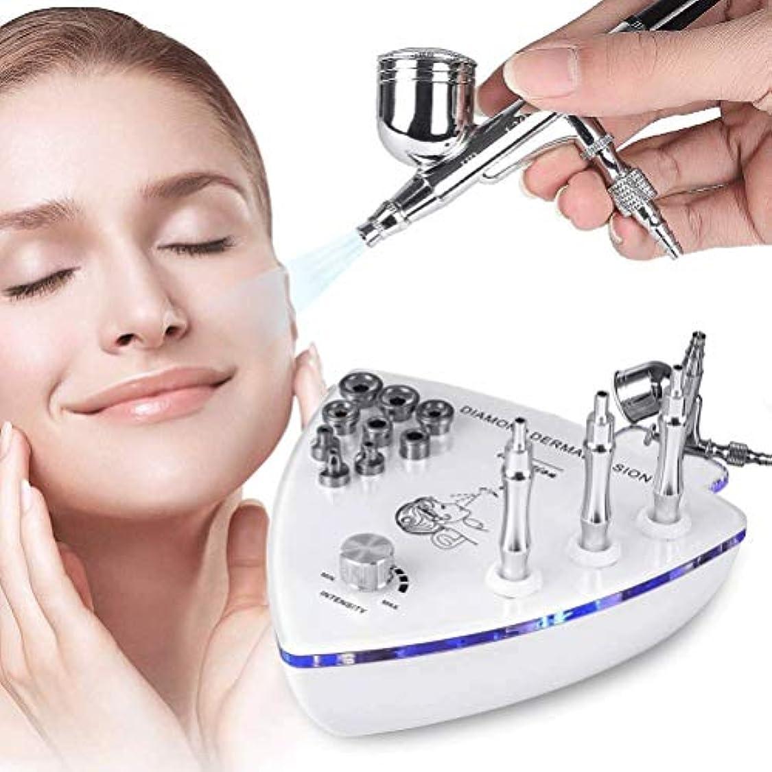 魔法確立しますご予約美容機器 - ダイヤモンドMicroderma - スプレーガン散水真空吸引ピーリング?フェイシャルマッサージでBrasion皮膚剥離マシン