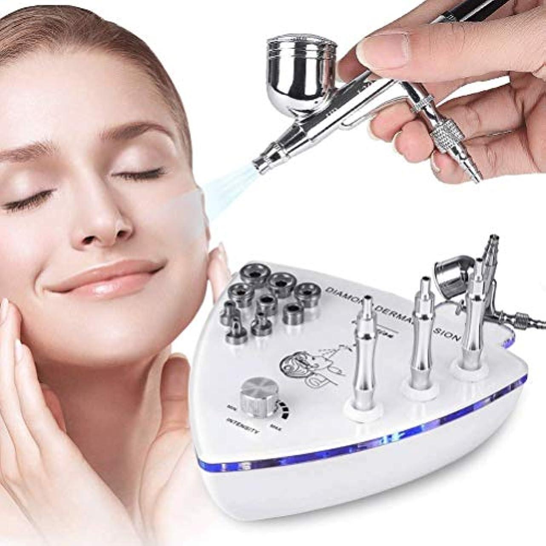 現実証人保持美容機器 - ダイヤモンドMicroderma - スプレーガン散水真空吸引ピーリング?フェイシャルマッサージでBrasion皮膚剥離マシン