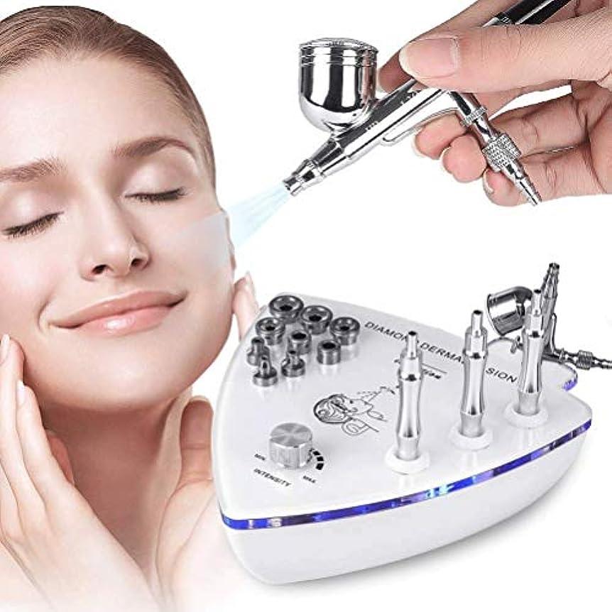 アンカー悩みうまくやる()美容機器 - ダイヤモンドMicroderma - スプレーガン散水真空吸引ピーリング?フェイシャルマッサージでBrasion皮膚剥離マシン