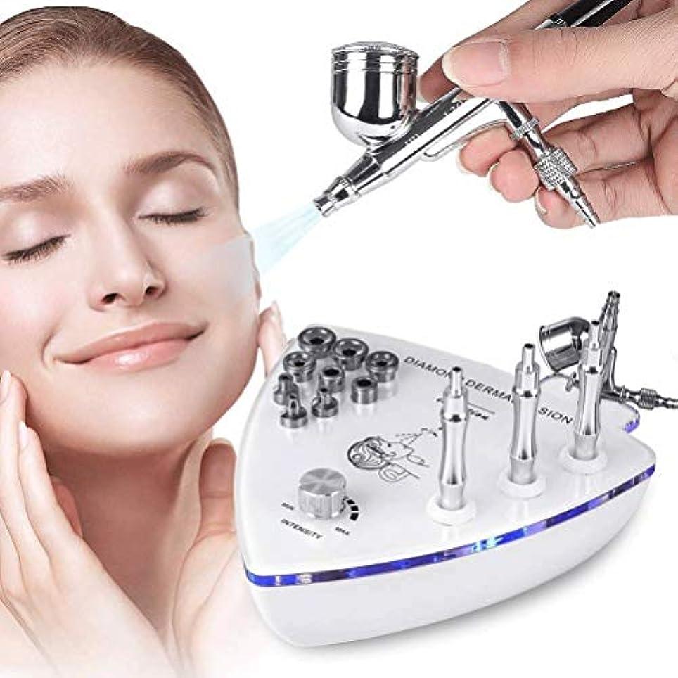 満足できる有効期限切れ美容機器 - ダイヤモンドMicroderma - スプレーガン散水真空吸引ピーリング?フェイシャルマッサージでBrasion皮膚剥離マシン