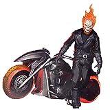 メズコ マーベルコミック ゴーストライダー with ヘルバイク ワン12コレクティブ 1/12 アクションフィギュア セット 602735