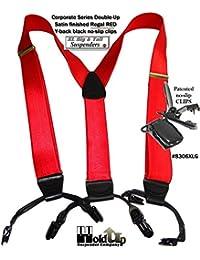 Hold-Up Suspender Co. ACCESSORY メンズ US サイズ: big-tall,X-large,XL,XX カラー: レッド