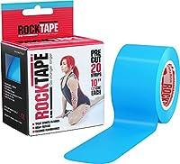 ロックテープ/Rock Tape(ライトブルー)プリカット 20ストライプ (1ストライプ 約25.4cm)スポーツ・運動にサポートテーピング 並行輸入品