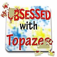 ブロンドDesigns Obsessed with–Obsessed with topazes–10x 10インチパズル( P。_ 241825_ 2)