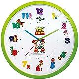 Disney 壁掛け時計 アイコンウォールクロック アナログ表示 連続秒針 トイストーリー 734467