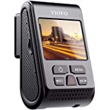 VIOFO 1600P Single Channel Dash Camera with Buffered Parking Mode and GPS Module, Grey (A119 V3)