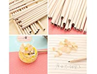 Pupils are environmentally friendly non-toxic six corner bar pencils children's logs and pencil writing are easy to cut (100pcs). [並行輸入品]