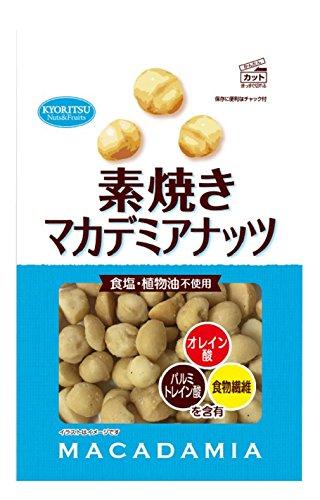 共立食品 素焼きマカデミアナッツ 120g