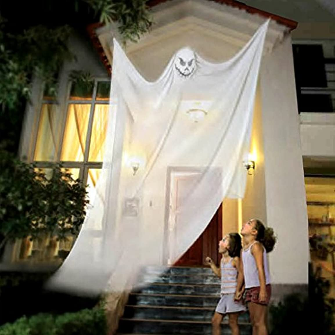 食堂噴水個性ハロウィーンフェスティバルぶら下げ幽霊装飾ホラー小道具バーお化け屋敷室内装飾