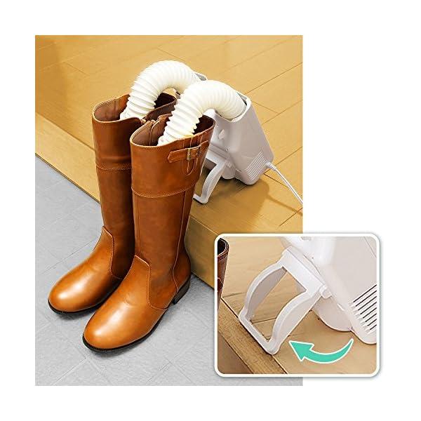 アイリスオーヤマ 靴乾燥機 ダブルノズル SD...の紹介画像6