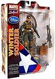 キャプテンアメリカ マーベルセレクト USA限定アクションフィギュア ウィンターソルジャー / CAPTAIN AMERICA MARVEL SELECT WINTER SOLDIER