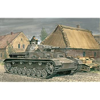 サイバーホビー 1/35 WW.II ドイツ軍 Sd.Kfz161 IV号戦車 A型