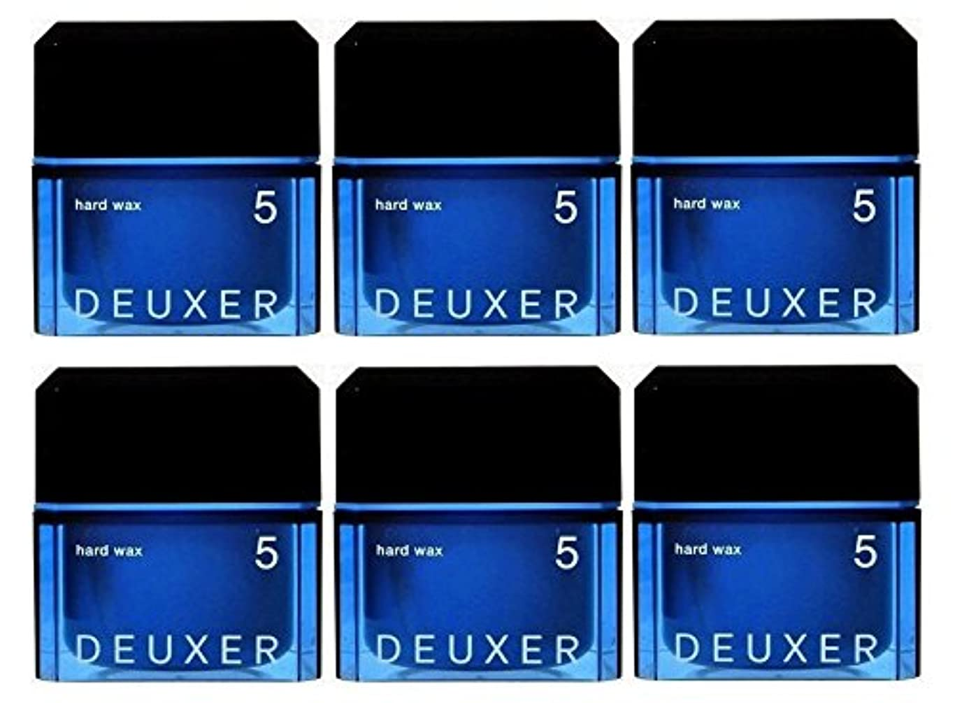 一貫性のないフラッシュのように素早くスタジオ【6個セット】ナンバースリー デューサー ハードワックス 5 80g