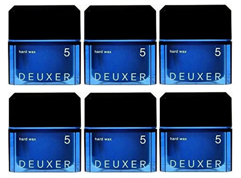【6個セット】ナンバースリー デューサー ハードワックス 5 80g