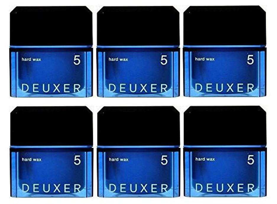 許すハード必要としている【6個セット】ナンバースリー デューサー ハードワックス 5 80g