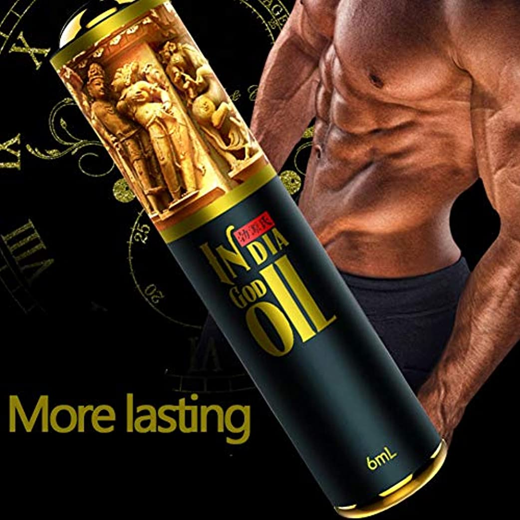 ナイトスポット肉腫現実にはKISSION 陰茎拡大オイル インドの神油 オーガズムの促進 性的射精遅延 性生活を促進 男性の陰茎の拡大オイル 増粘 成長ピル 男性用 男性用品 6ml