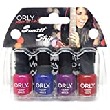 Orly Nail Lacquer - Winter 2016 Sunset Strip - Mini 4pc Kit - 0.18oz / 5.3ml Each