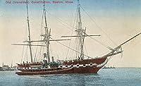 ボストン、マサチューセッツ州–古い( Ironsides )憲法ボートビュー 24 x 36 Giclee Print LANT-15305-24x36