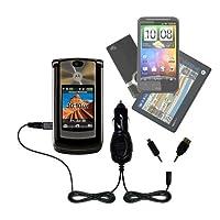 GomadicデュアルDC車オートミニ充電器Designed for the Motorola Motorola RAZR 2V9m–Uses Gomadic複数のデバイスを充電するin Your Car
