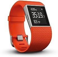 【日本正規代理店品】Fitbit フィットネススーパーウォッチ Surge Small Tangerine FB501TAS-JPN FB501TAS-JPN