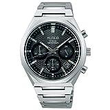 [セイコーウォッチ] 腕時計 ワイアード REFLECTION ソーラークロノモデル AGAD417 メンズ シルバー