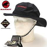 MAMMUT マムート アウトドア ゴアテックス ハット・キャップ GORETEX ALL WEATHER HAT 0001 ブラック 1090-05960 アドベンチャーベンチレーションハット