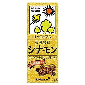 キッコーマン飲料 豆乳飲料 シナモン 200ml×18本