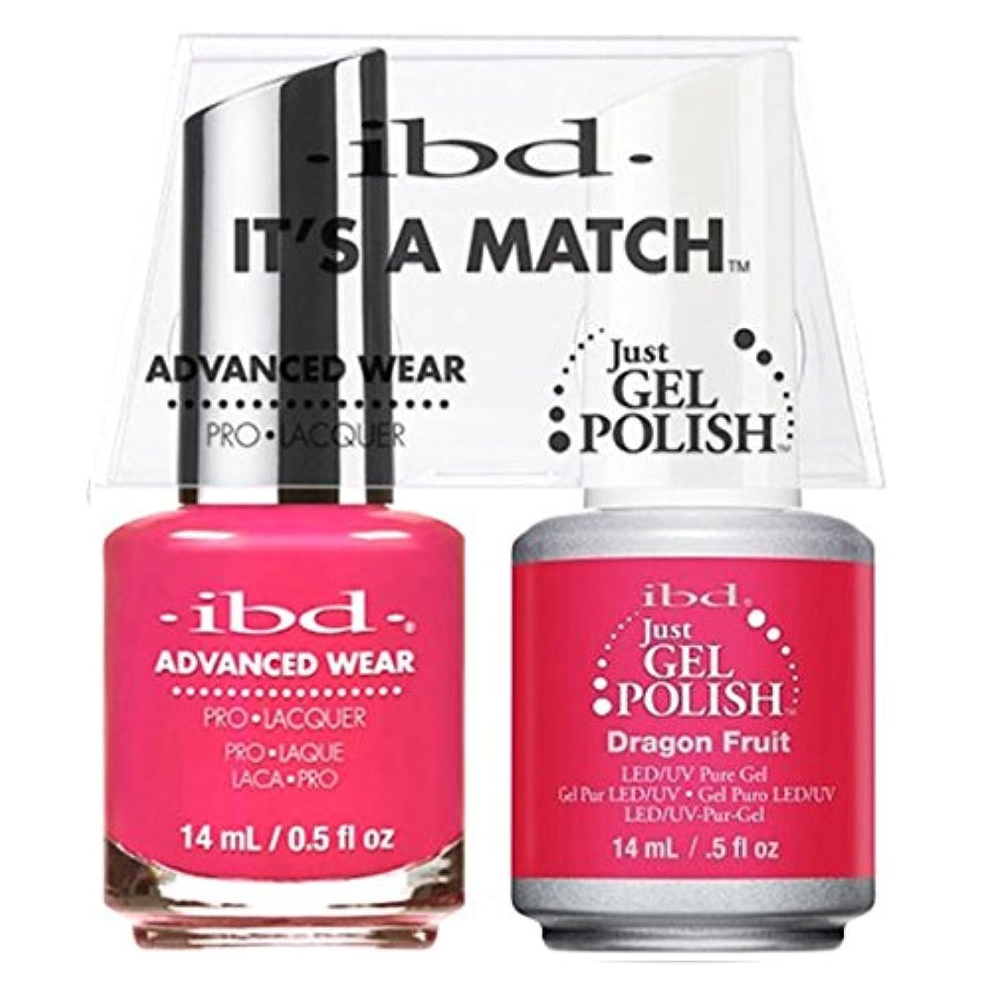 変動するキュービック広々ibd - It's A Match -Duo Pack- Dragon Fruit - 14 mL / 0.5 oz Each