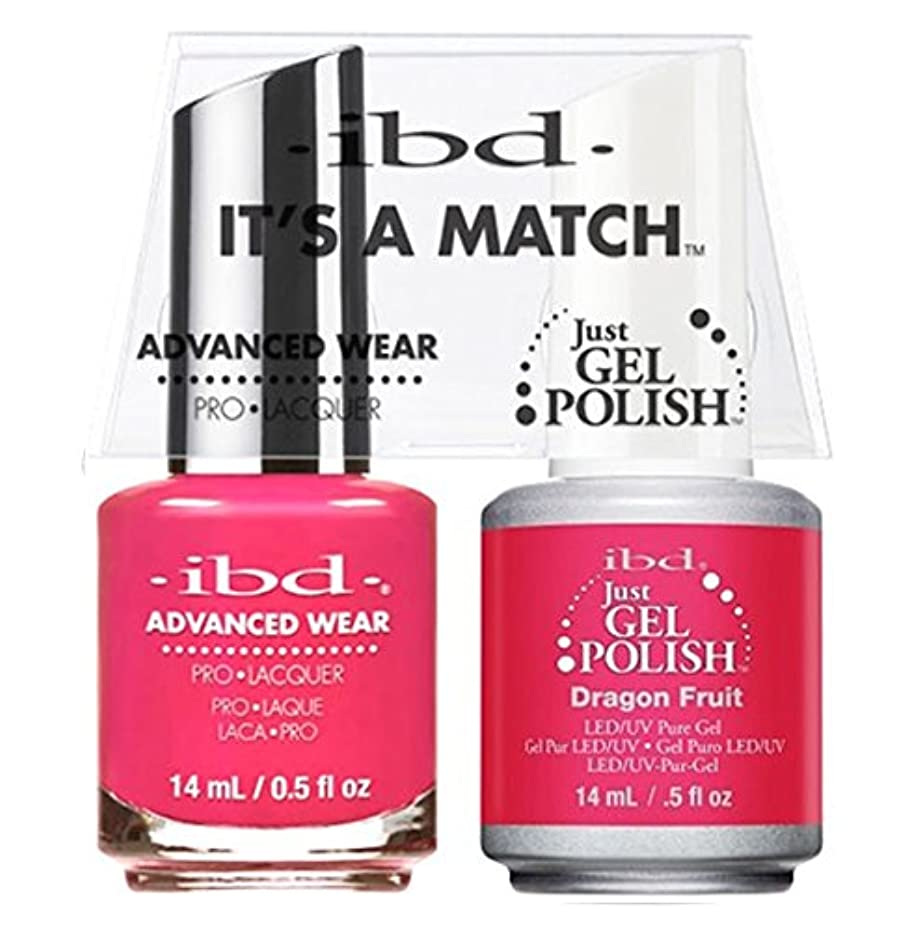 ibd - It's A Match -Duo Pack- Dragon Fruit - 14 mL / 0.5 oz Each