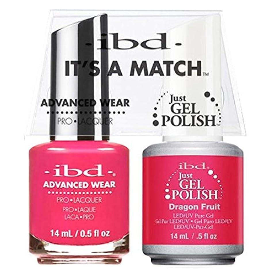 地図緩やかなパブibd - It's A Match -Duo Pack- Dragon Fruit - 14 mL / 0.5 oz Each