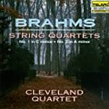 Brahms: Quartets In A Minor & C Minor by Cleveland Quartet (1994-07-26) 画像