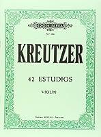 42 estudios : para violín