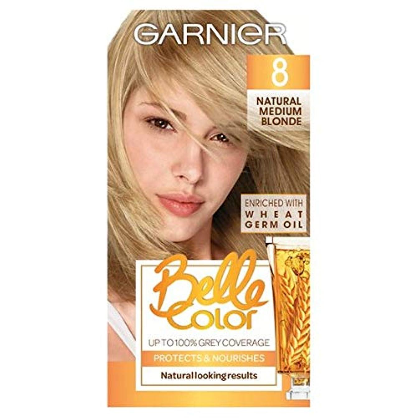 時期尚早幹全員[Belle Color ] ガーン/ベル/Clr 8天然培地ブロンドパーマネントヘアダイ - Garn/Bel/Clr 8 Natural Medium Blonde Permanent Hair Dye [並行輸入品]