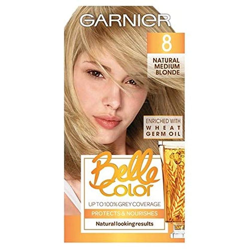 到着秘密のテレックス[Belle Color ] ガーン/ベル/Clr 8天然培地ブロンドパーマネントヘアダイ - Garn/Bel/Clr 8 Natural Medium Blonde Permanent Hair Dye [並行輸入品]