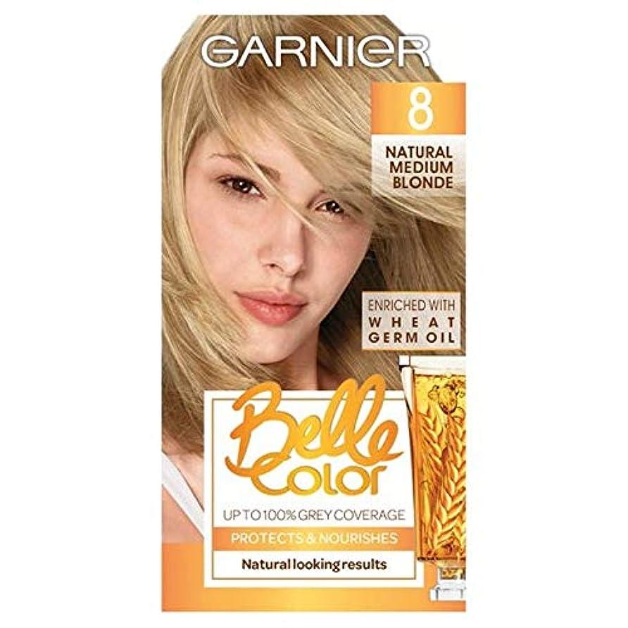 枢機卿愛ちっちゃい[Belle Color ] ガーン/ベル/Clr 8天然培地ブロンドパーマネントヘアダイ - Garn/Bel/Clr 8 Natural Medium Blonde Permanent Hair Dye [並行輸入品]