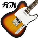 FgN フジゲン テレキャスター エレキギター J-Classic JTL6R 3TS(3トーンサンバースト) 【日本製】