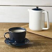やまに 北欧ブルー 深ブルー コーヒーカップ&ソーサー 3516162