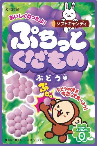 ぷちっとくだものブドウ味 10個入 BOX (キャンディ)