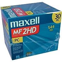 マクセル maxell 3.5インチFD Windowsフォーマット済 30枚パック MF2HD