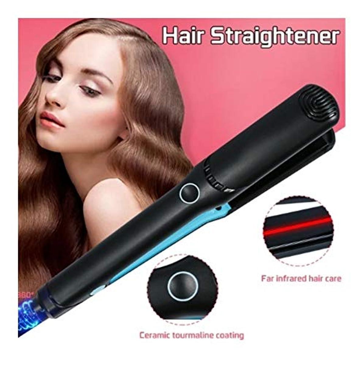 受け取る眉をひそめる鉛筆CQQ プロのヘアストレイテナーフラットアイアン多機能セラミックヘアカーラーストレートアイロンサロンスタイリングツール