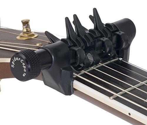 Spider Capo/スパイダーカポ SPD STD 6弦ギター用 弦ごとにオン/オフ可能な画期的カポ